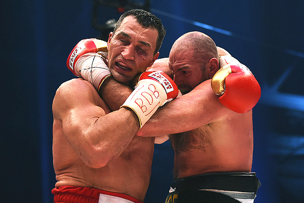 Everyone from Boston to Borneo knows that Fury defeated Klitschko. (Photo: Lars Baron/Bongarts/Getty Images)