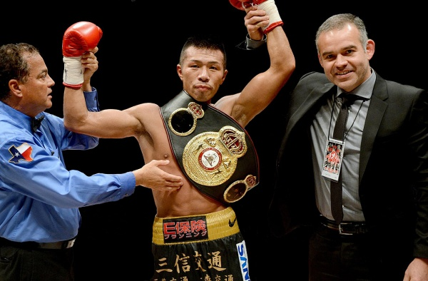 The champ is a tough customer, but Flores is convinced that Uchiyama is ready to be taken. (Photo: Naoki Fukuda)