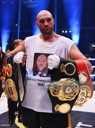 Tyson Fury - Boxer of the month - November 2015