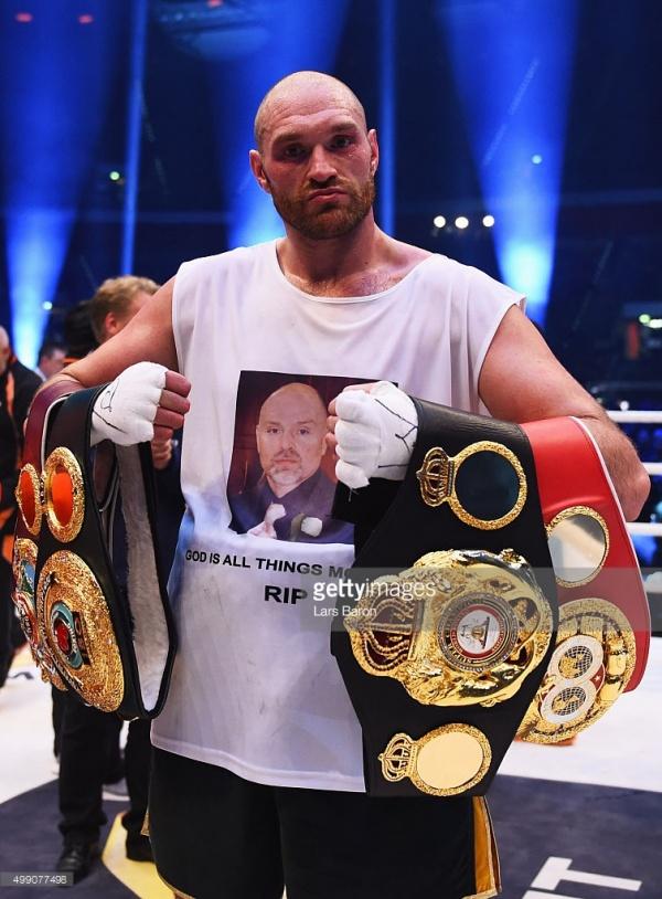 Tyson Fury – Boxeador del mes – Noviembre 2015