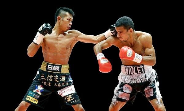 Super Champ Uchiyama Crushes Flores