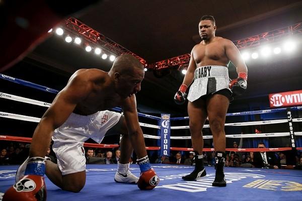 Jarrell Miller Wins Interim WBA/NABA Heavyweight Title