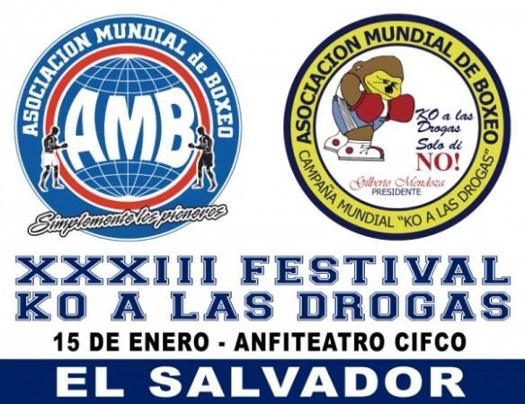 XXXIII KO a Las Drogas en El Salvador