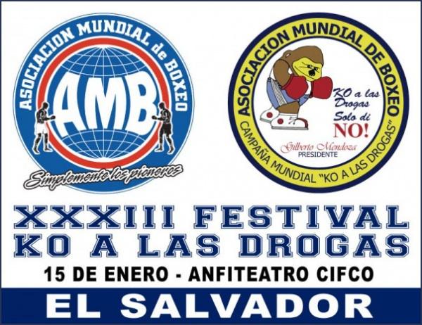 Five WBA title fights will take place at Centro de Convenciones in El Cifco, San Salvador, on Friday, January 15.