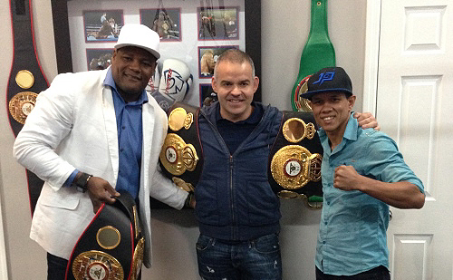 WBA Prez Meets with Ortiz, Payano