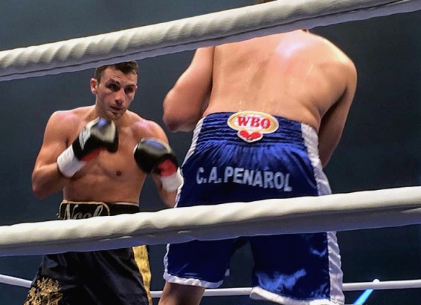 Thirteenth-ranked by the WBA, Gevor most recently fought in September 2015, beating Daniel Alejandro Sanabria.  (Photo: Kampf)