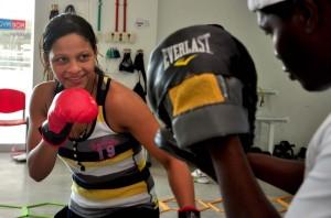 Dayana Cordero ya se instaló en El Salvador
