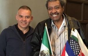 Gilberto Jesús Mendoza se reunió con Don King