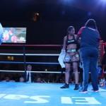 """Lourdes """"La Felina"""" Borbua, venció a Xochilt Barquero"""