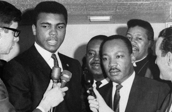 """""""Like Muhammad Ali puts it, we are all—black and brown and poor—victims of the same system of oppression."""" (Photo: AP)"""