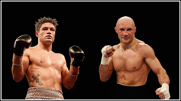 Ryder vs. Khomitsky for WBA Middleweight Title