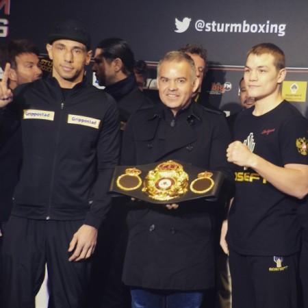 Chudinov and Sturm Make Weight