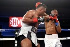 Most recently, Jarrell Miller stopped Donovan Dennis in the seventh round of their January 22 clash. (Photo: Esther Lin/Showtime)