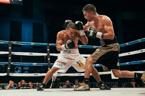 Lopez won the then-vacant title by beating Eliecer Aquino via majority decision last July. (Photo: Rosie Cohe/Showtime)