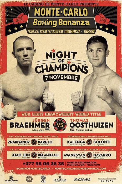 Braehmer-Oosthuizen Canceled Again