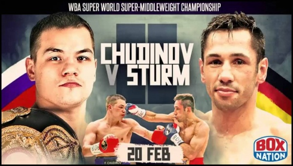 """""""After completing a successful tour in China, I decided to come to Germany to watch Fedor Chudinov and Felix Sturm in action."""""""