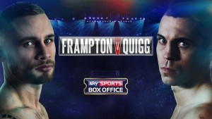 Let's Get Ready to Rumble: Frampton vs. Quigg