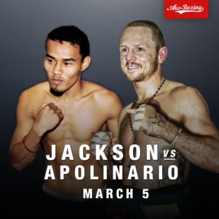 Jackson vs. Apolinario for WBA Featherweight Title