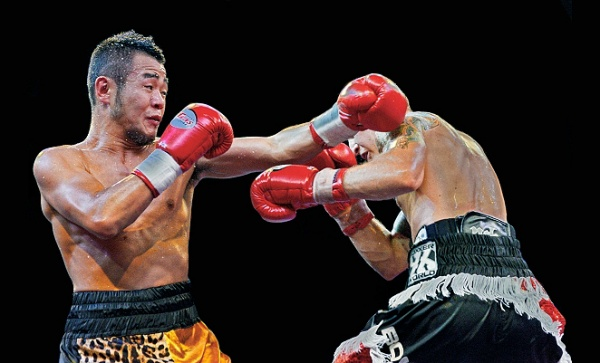 WBA Title Fights in China