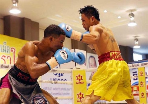 Kiatniwat retained his interim WBA World flyweight title by majority decision over Gregorio Lebron. (Photo: Courtesy)