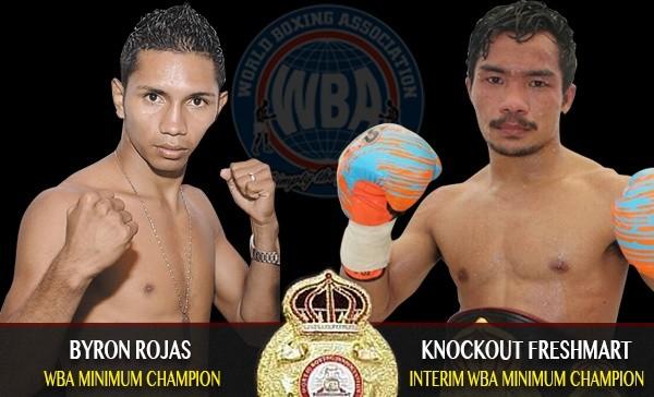 WBA Orders Rojas-Freshmart Championship Bout