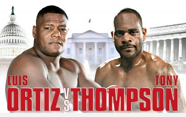 NEWS FLASH: Ortiz-Thompson Is NOT a Title Fight
