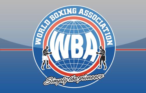 WBA Rankings for April
