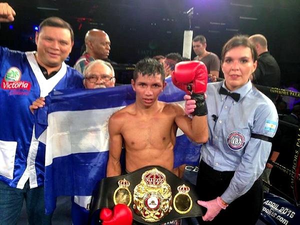 All three judges saw it 115-113. Byron Rojas is the new WBA Super World minimumweight champion. (Photo: Courtesy)