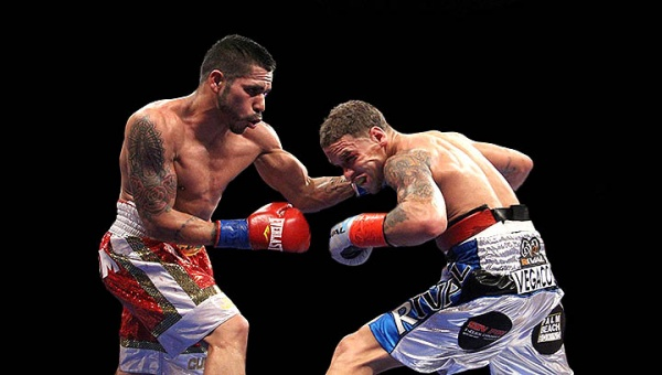 Cuellar has successfully defended his title five times, most recently this past December, beating Jonathan Oquendo. (Photo: Sumio Yamada)