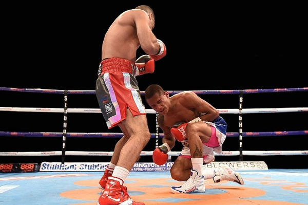 """""""I saw the opening and I took it,"""" said Yafai after the fight. """"Once I landed clean, I knew he'd be in trouble. (Photo: Courtesy)"""
