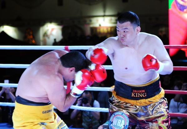 Zhang JungLong WBA Oceania Heavyweight Champ