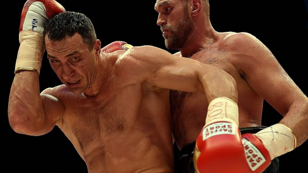 Tyson Fury and his trainer Peter Fury had a game plan for which 40-year-old Klitschko had no answer. (Photo: bz-berlin.de)