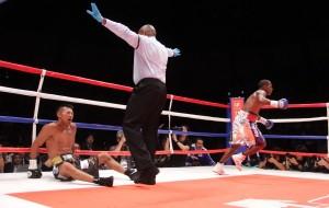Corrales dio la sorpresa en triple campeonato en Japón