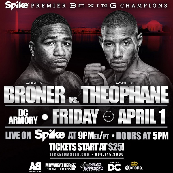 Despite the many distractions facing Broner, including criminal charges, he appeared confident going into the bout.