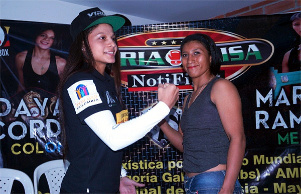 """""""When I was a very young girl I imagined coming with my belt and all my people supporting me."""" (Photo: Probox Caribbean)"""