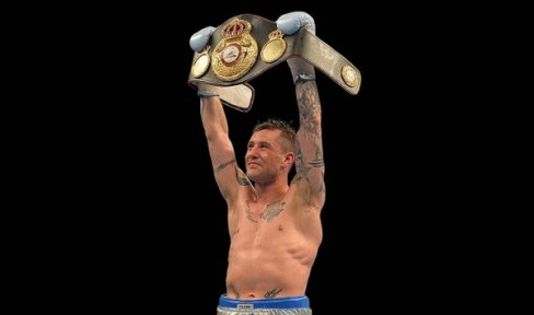 Scotland's Ricky Burns is now the WBA World light welterweight champion, but he's hungry for more. (Photo: Courtesy)
