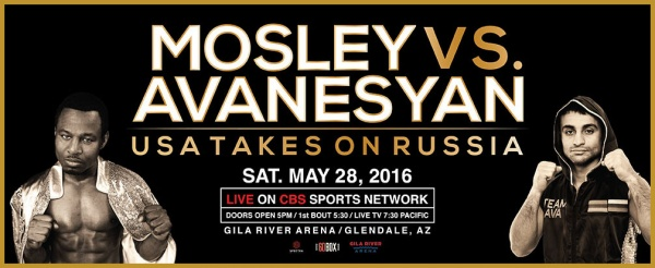 """Trained for this fight by the legendary Roberto Duran, Mosley promises to """"annihilate"""" the current interim champ."""