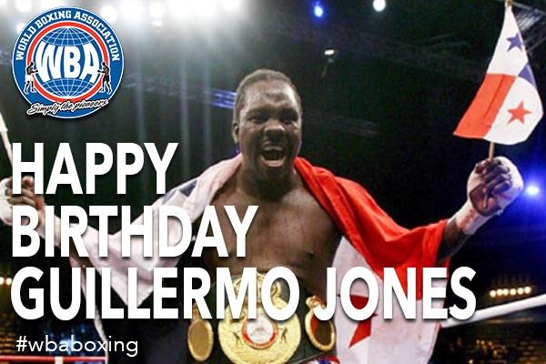 Feliz cumpleaños Guillermo Jones