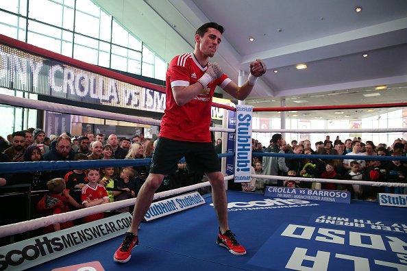 Campeones exhibieron su poder en entrenamiento en Manchester