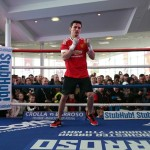 Anthony Crolla vs Ismael Barroso workout