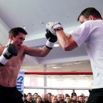 Anthony Crolla vs Ismael Barroso workout