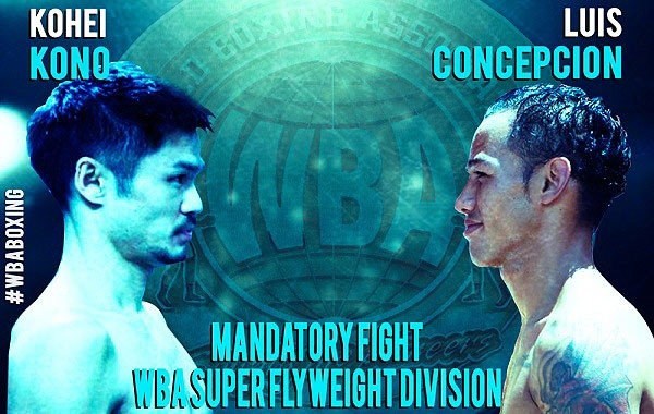 WBA Championships Committee Orders Kono-Concepcion
