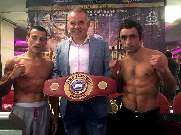 Battles for WBA Regional Titles this Saturday