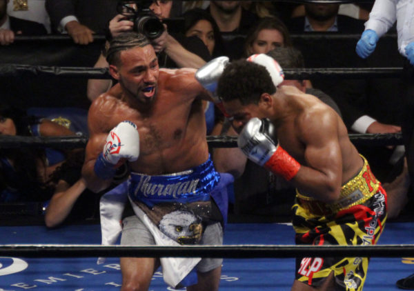 Thurman returns to claim himself king of the Welterweights