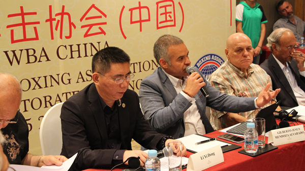 Arranca Reunión Directorio AMB en Beijing, China