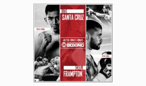 Santa Cruz vs. Frampton: By the Numbers