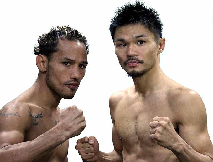 Concepcion came in at 114.75. Kono weighed 115 pounds. (Photo: Sumio Yamada)