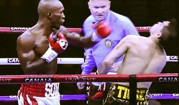 Michel Soro Wins WBA International Title