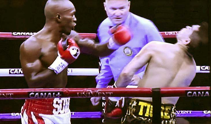Michel Soro fought like a man making up for lost time. (Photo: Courtesy)