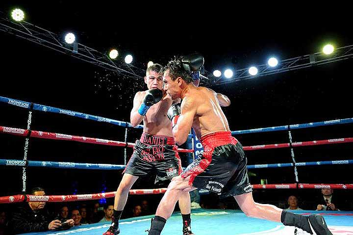 """""""I know I belong with the best,"""" said Danny Roman after the fight. (Photo: Courtesy)"""